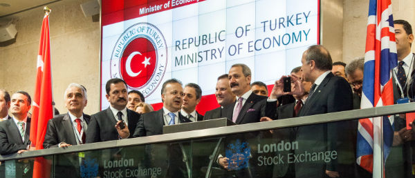 Turkish economy minister in London for new cooperation opportunities