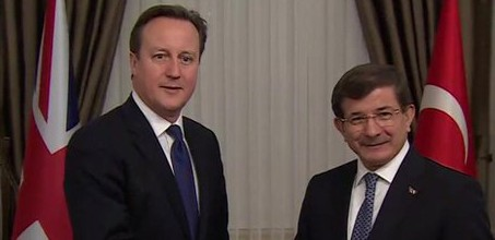 Cameron: UK and Turkey 'hand in glove' in extremism fight