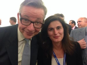 Rt Hon Michael Gove MP and Isabel Sigmac