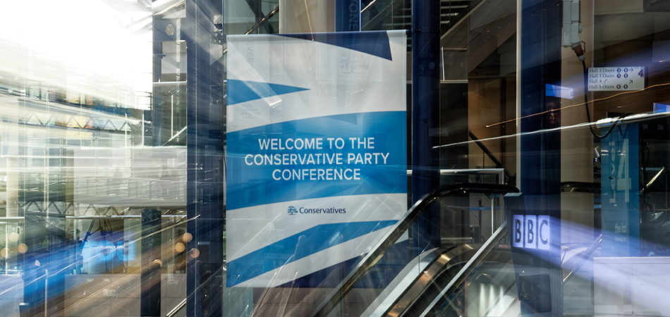 Join us at the Party Conference – fringe event Sunday & exhibition stand