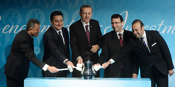 Bourse İstanbul inaugurated in gong ceremony