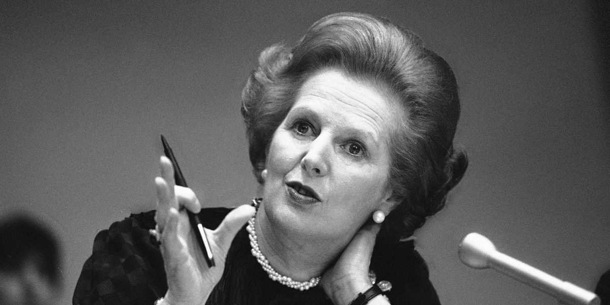 Ex-Prime Minister Baroness Thatcher dies, aged 87