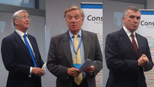 Ministers, more than 100 delegates attend CFT Business Reception at the Conservative Party Conference