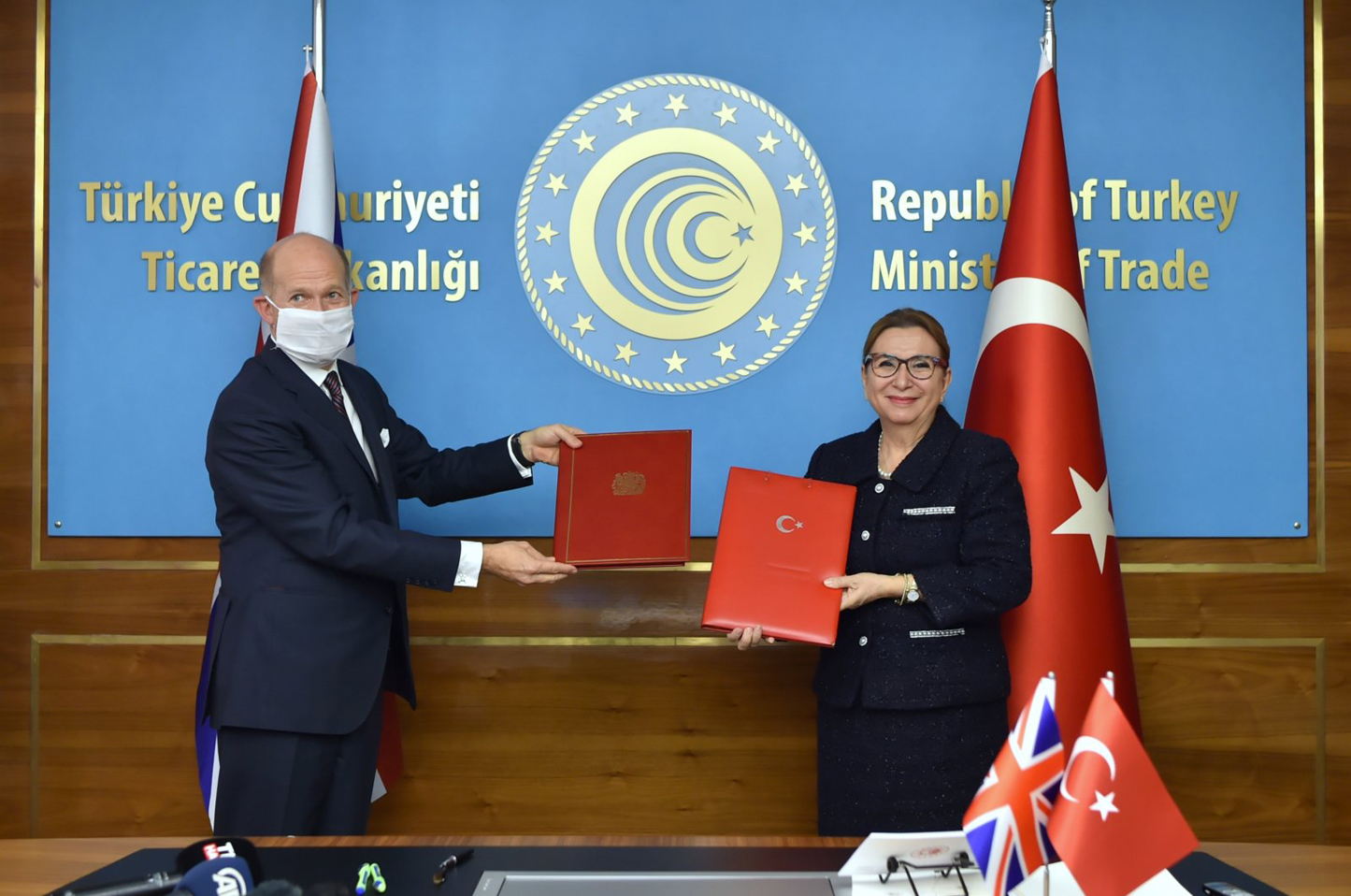 UK and Turkey sign Free Trade Agreement