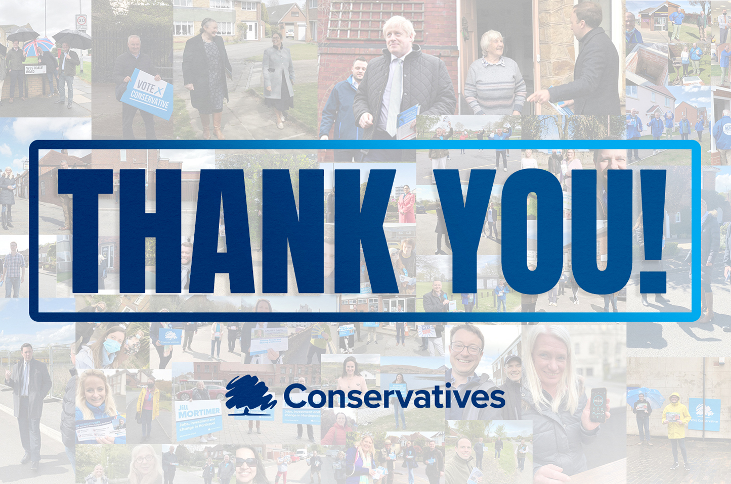 Thank you to everyone who voted Conservative to deliver on the people's priorities